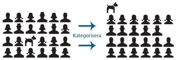 Identifiera och kategorisera dina respondenter