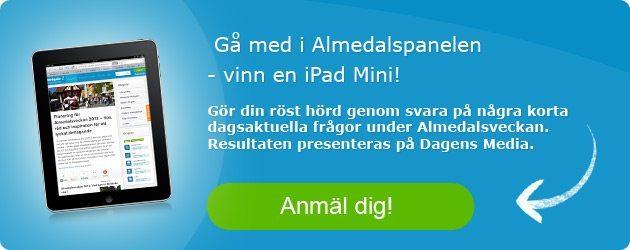 Almedalspanel Almedalsveckan 2013