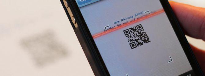 Mobile Befragungen mit QR-Code