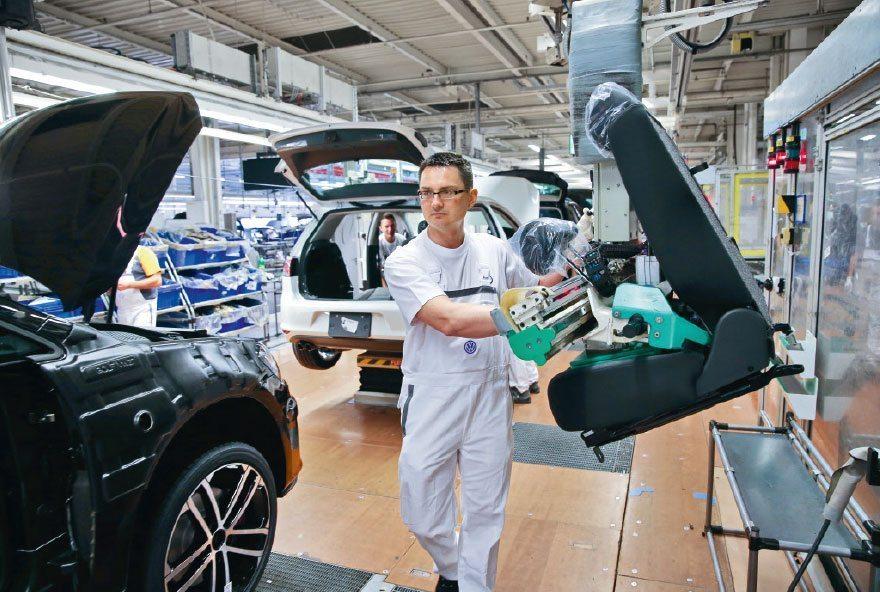 Ergonomie bei Volkswagen