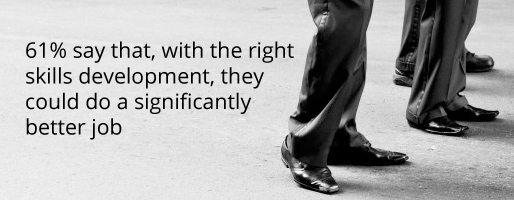 Skills development important according to voice of employee surveys