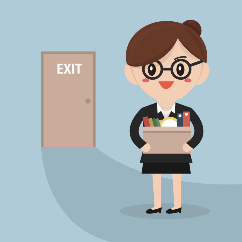 Gjør en undersøkelse når en medarbeider slutter