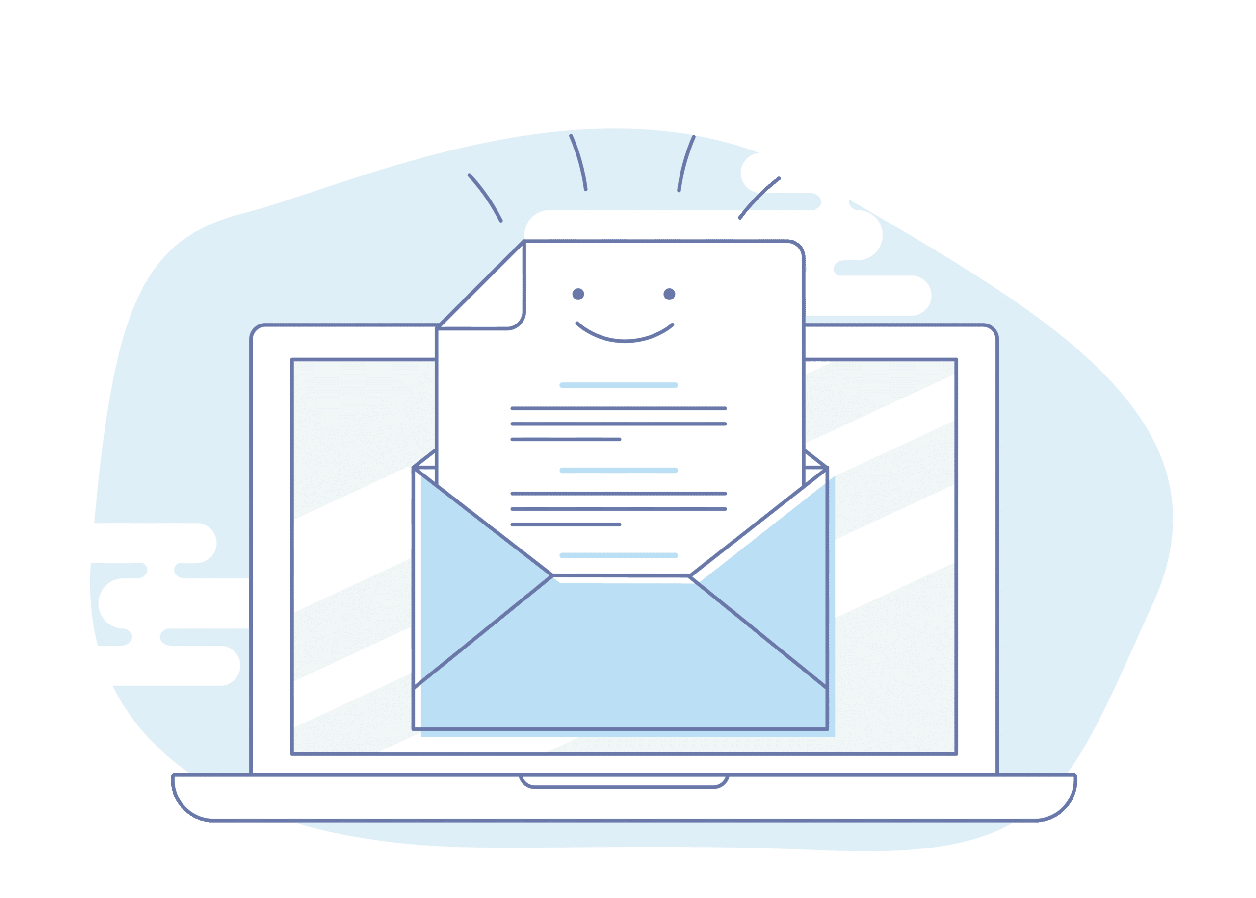 A happy survey email how to write better emails