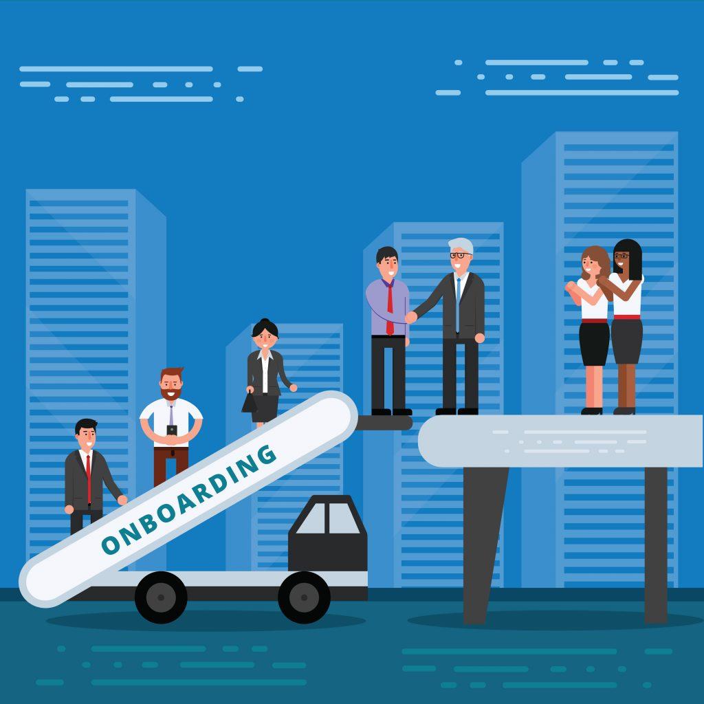 Onboarding neuer Mitarbeiter ist ein essentieller Schritt