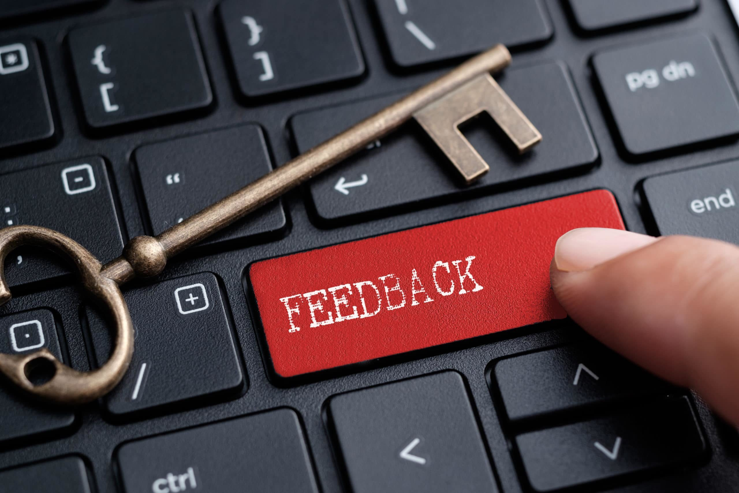 The key to important feedback
