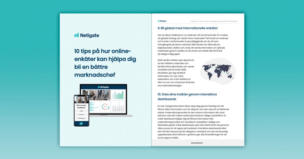 10 tips på hur online-enkäter kan hjälpa dig att bli en bättre marknadschef