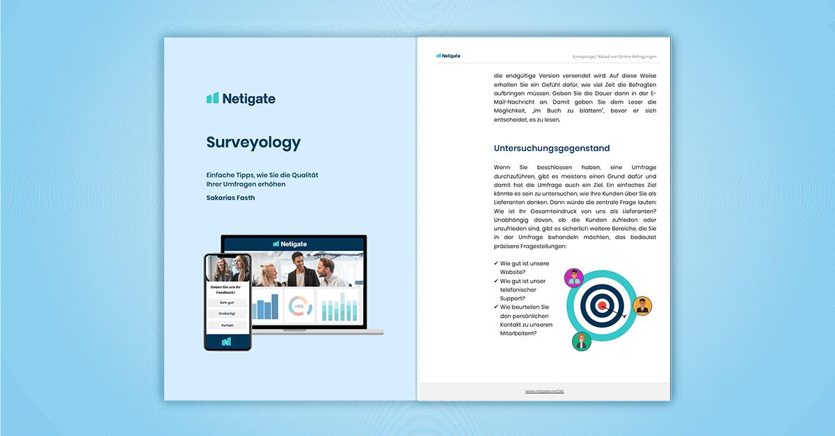 Surveyology: Einfache Tipps, um die Qualität Ihrer Umfragen zu steigern