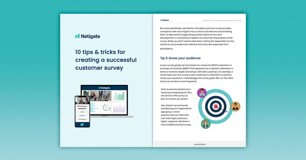 10 tips & tricks for creating a successful customer survey