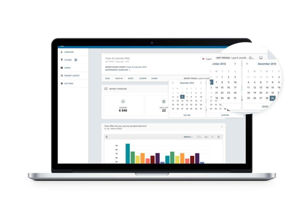 Wir stellen Ihnen unser leistungsstärkeres neues Reporting von Netigate vor