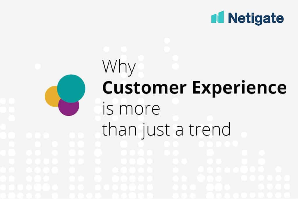 customer experience - trend