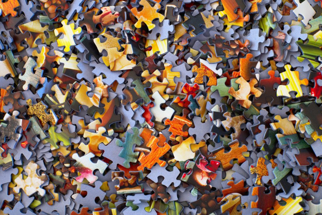 Jig Saw Puzzle Pieces