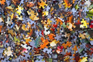 Jig Saw Puzzle Pieces