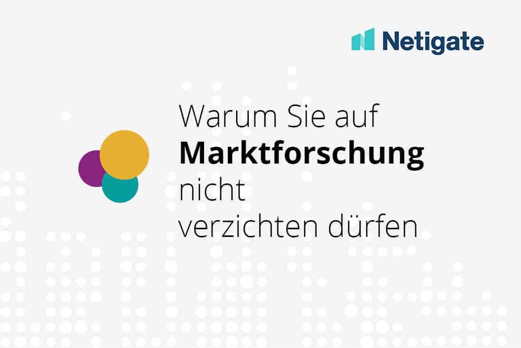 Marktforschung mit Netigate