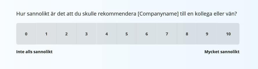 net promoter score mall