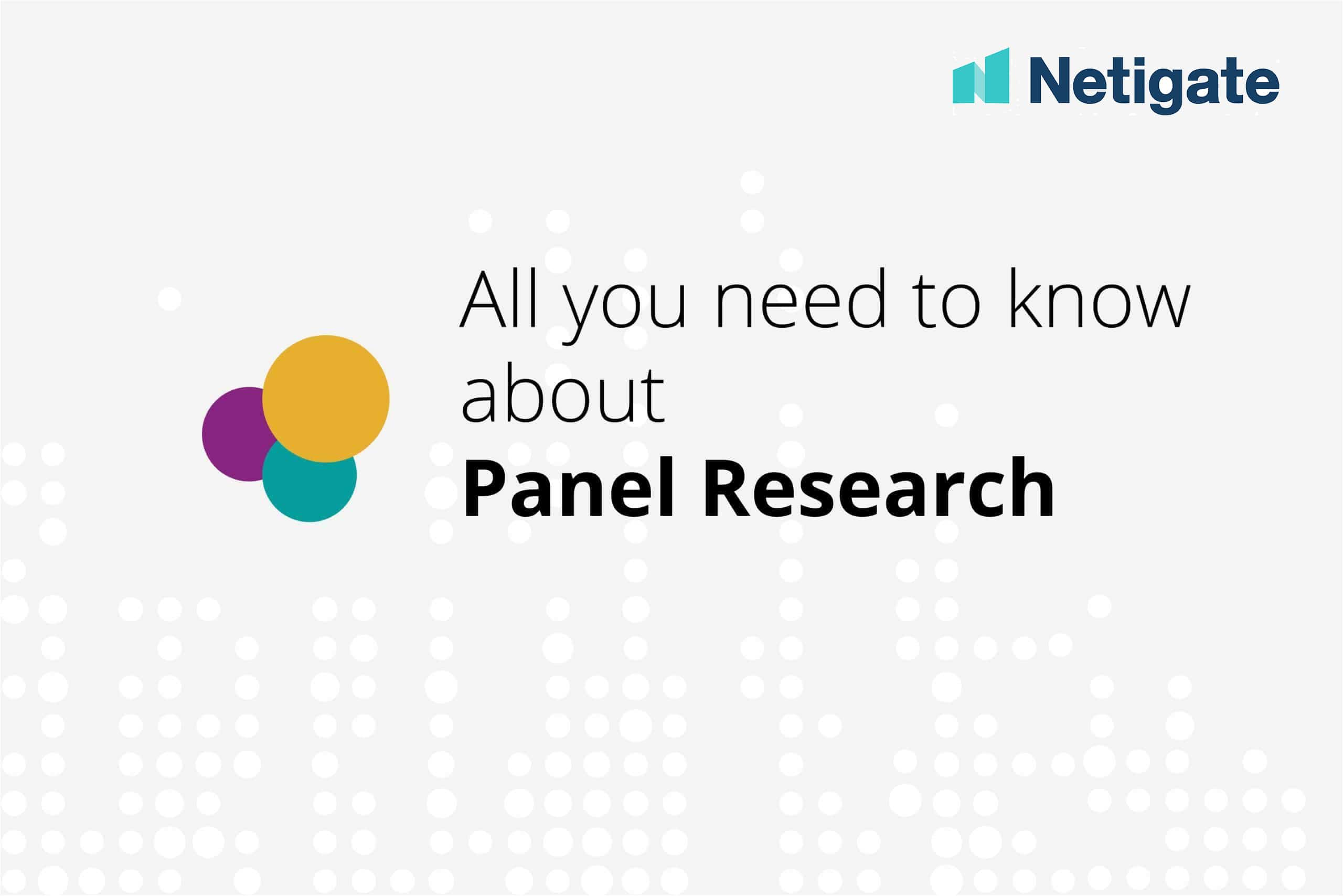 Your guide to panel research – what you need to know