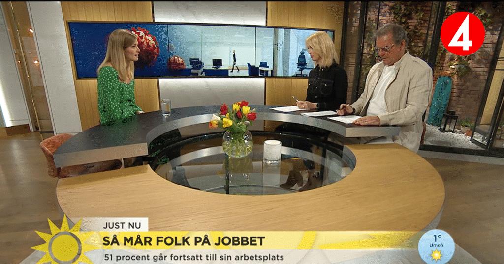 Netigates undersökning presenteras på TV4: Hur mår Sveriges anställda?