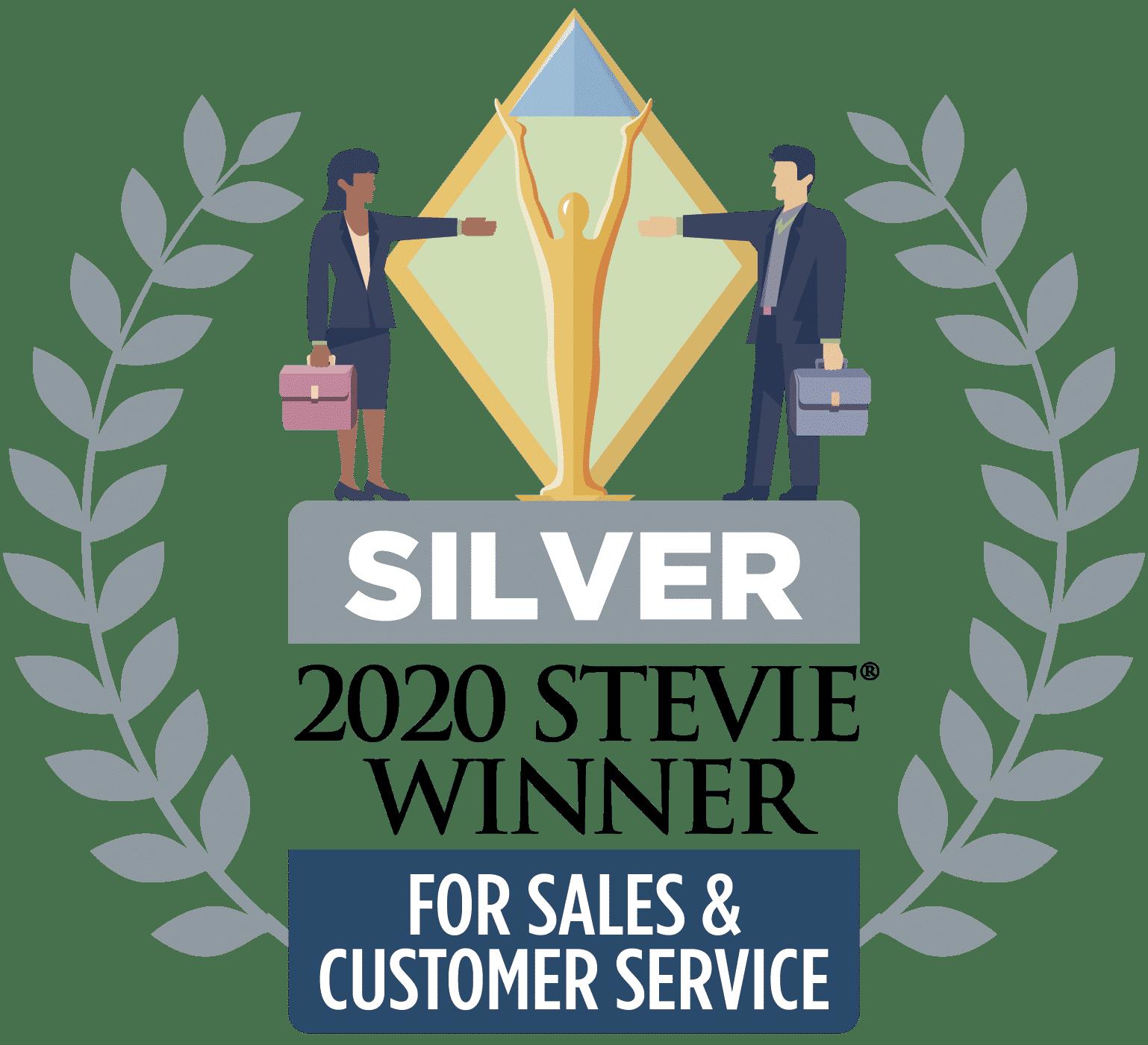 Netigate har utsetts till silverpristagare i Stevie Awards - Årets kundserviceteam