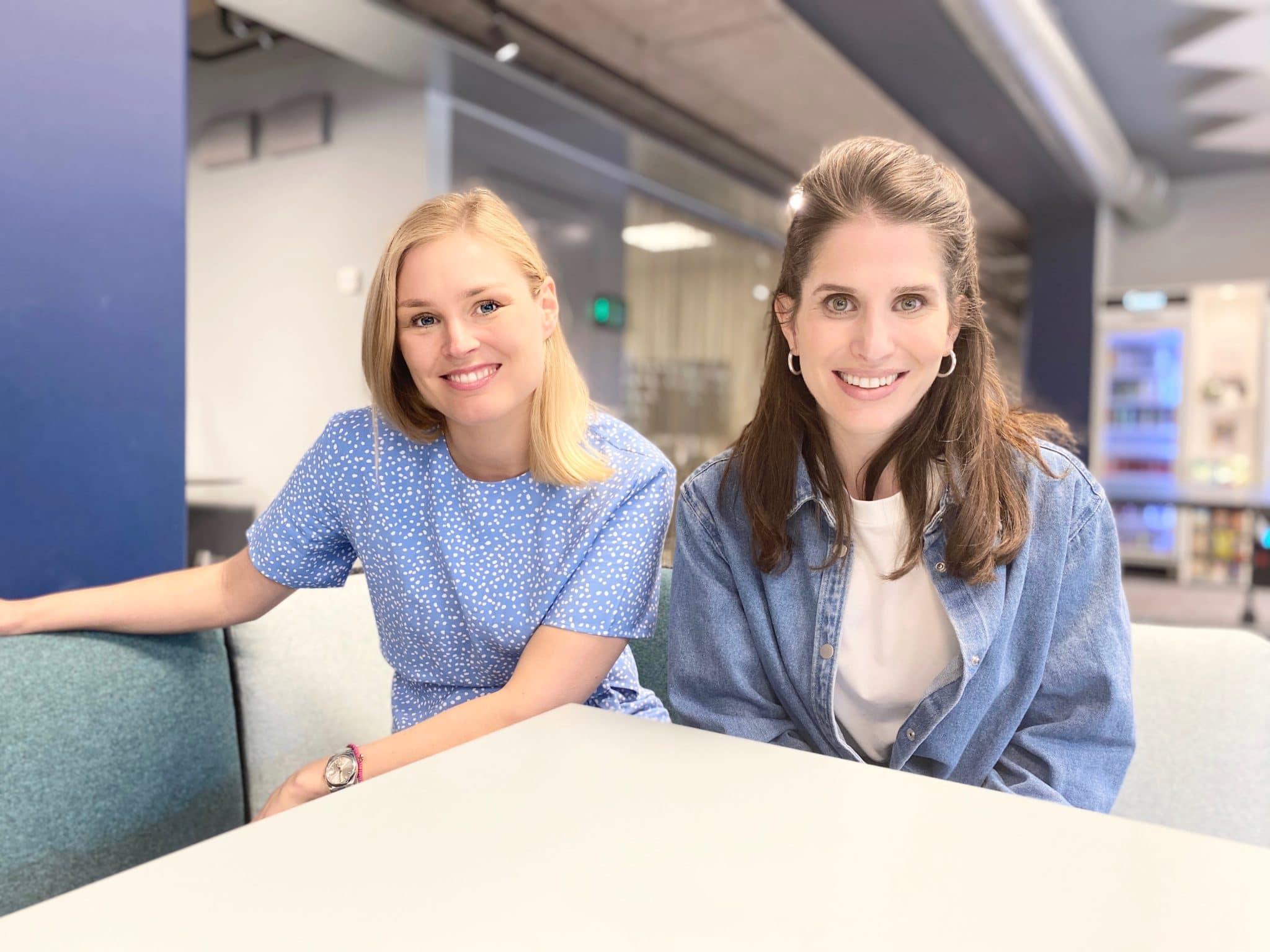 Sophie Hedestad och Deborah Mühlrad