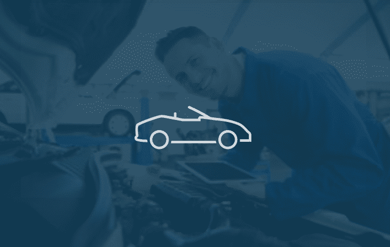 car logo with background image