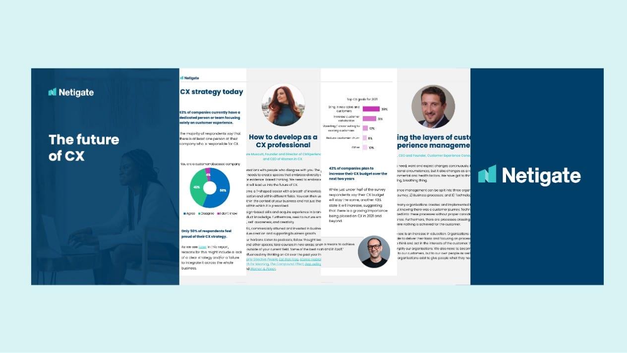 The future of CX – Fremtidens arbeid med kundeopplevelsen