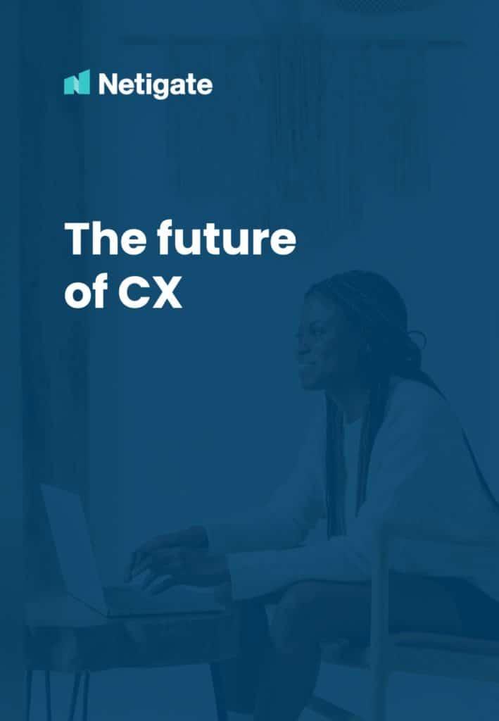 The future of CX_Netigate report_Cover