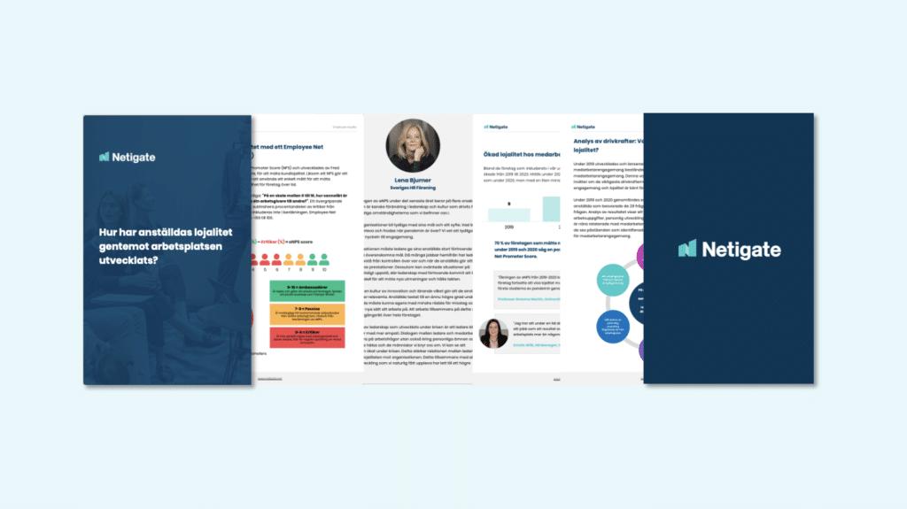 Hur har anställdas lojalitet mot arbetsplatsen utvecklats mellan 2019-2021?