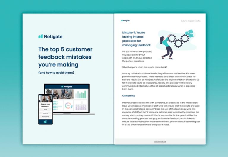 Top 5 customer feedback mistakes_Netigate_eBook