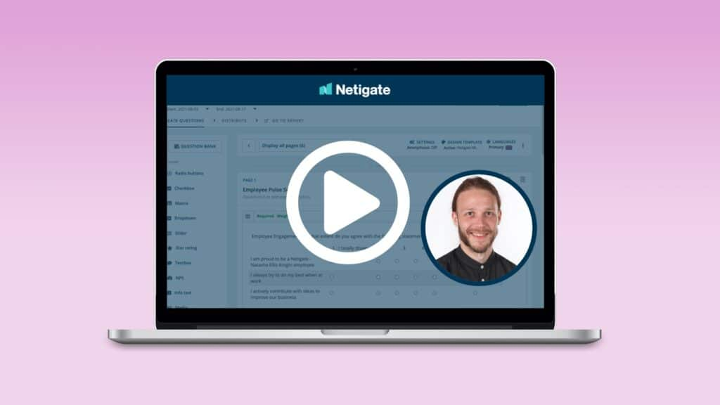 Netigate Academy: Level 2 – Report