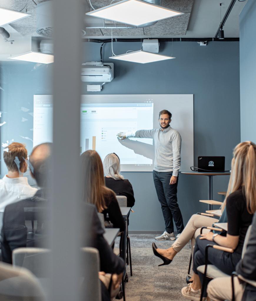 Stockholm office presentation