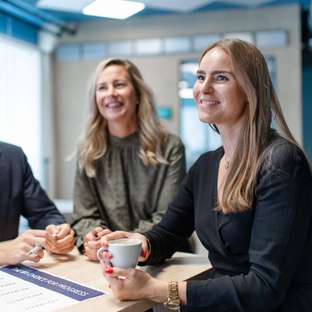 Stockholm office employees