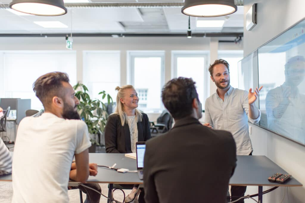 Stockholm office Sakke team